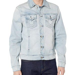 Men's Denim Long Sleeve truck driver jacket